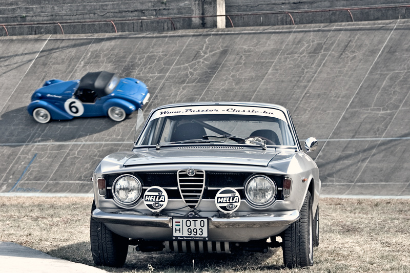 Alfa GTA vs Burton