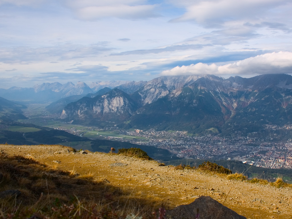 Innsbruck from Patscherkofel