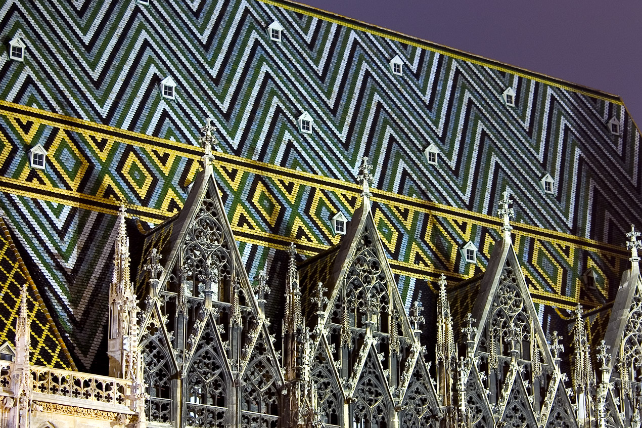 Roof of the St. Stephen's Cathedral (Stephansdom)