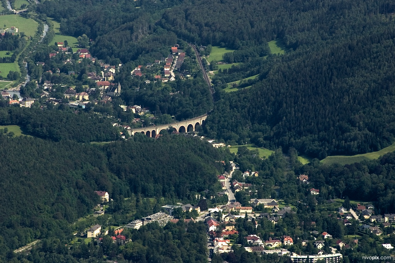 Payerbach, Semmering railway bridge