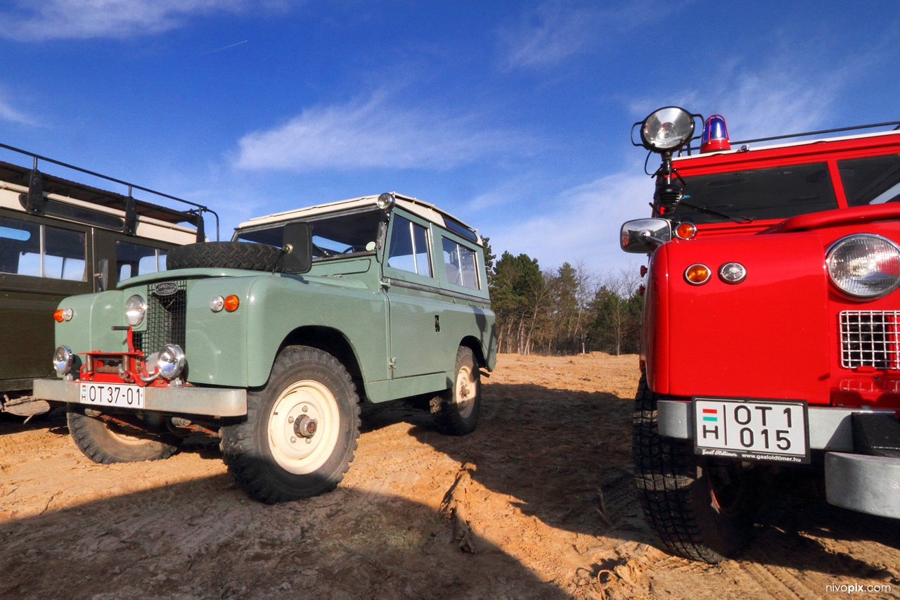 The Last Overland - convoy