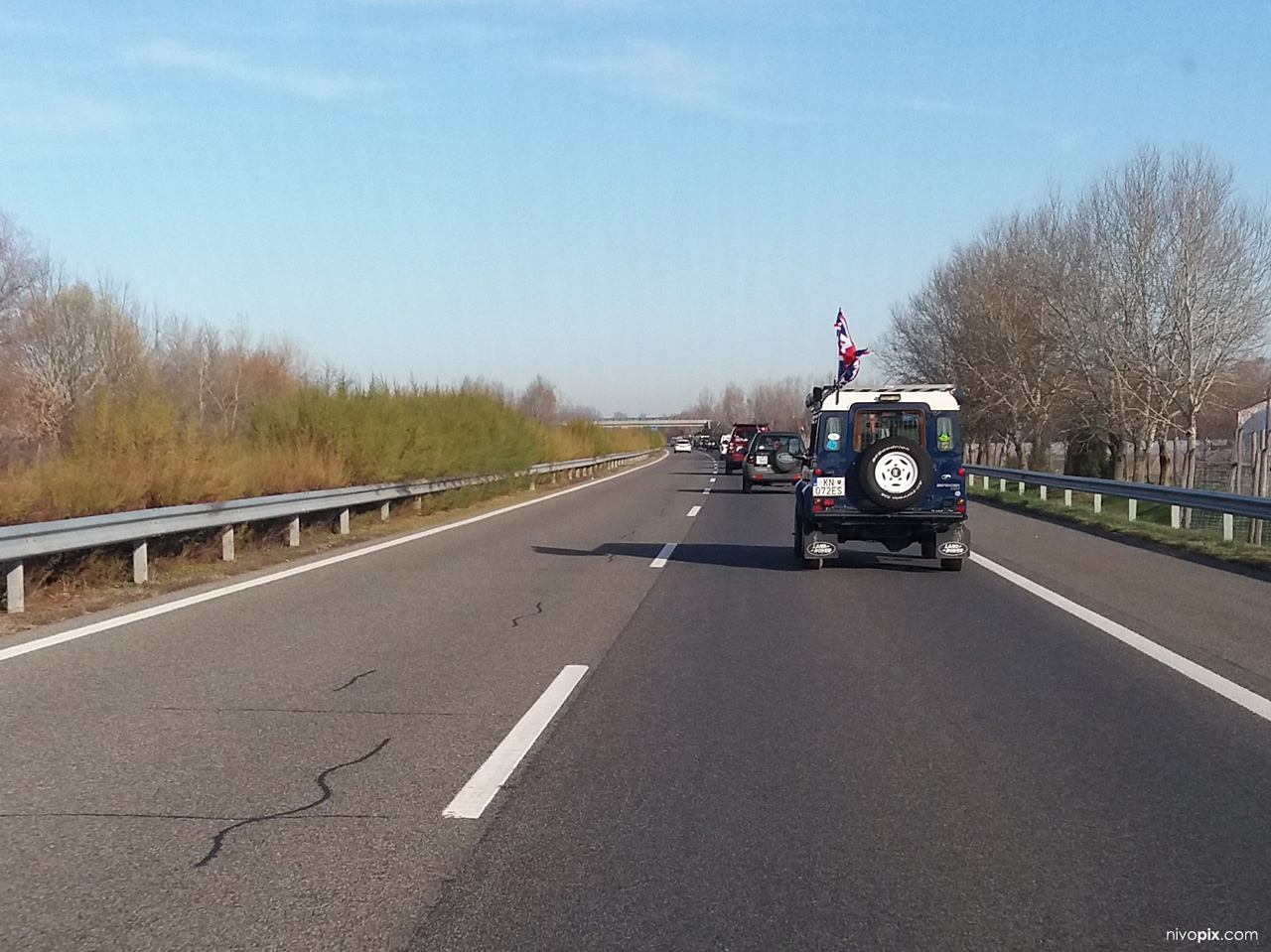 The Last Overland convoy in Hungary