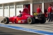 Gerhard Berger's Ferrari F1 car at Hungaroring