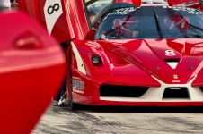 Ferrari FXX racecar at Hungaroring
