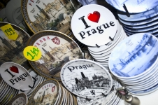 Souvenirs in Prague