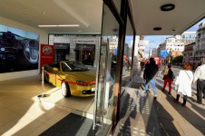 MG showroom, Piccadilly