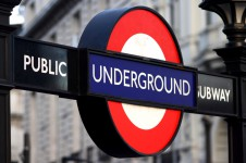 Public Underground Subway sign, London